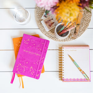 Intrinsic Hot Pink 2021 Inspirational Diary, Planner, Journal by Adèle Basheer