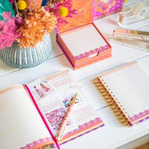 Australian Stationery : Intrinsic Hot Pink Stationery and Home Office Collection