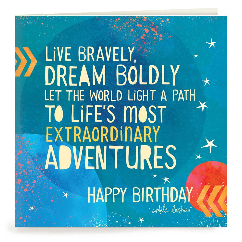 Intrinsic-Adventures Birthday Greeting Card