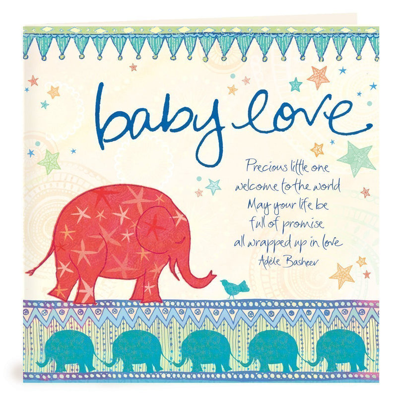 Intrinsic-Baby Boy Greeting Card