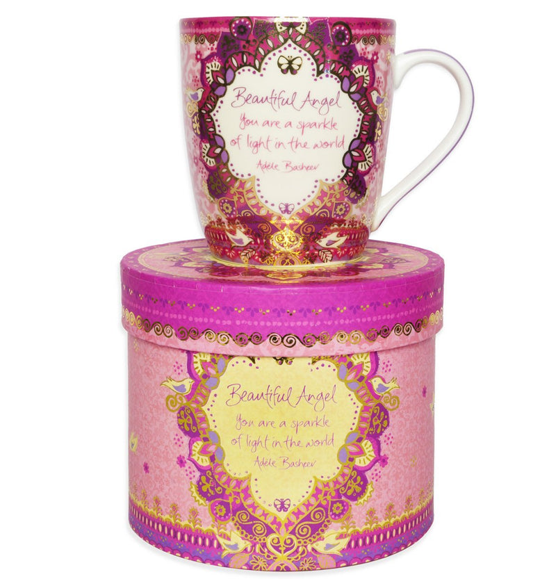 Intrinsic-Beautiful Angel Butterfly Mug