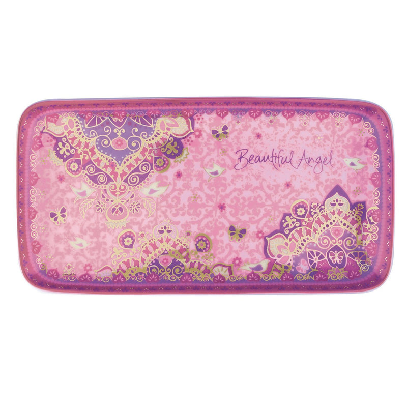 Intrinsic-Beautiful Angel Butterfly Trinket Tray