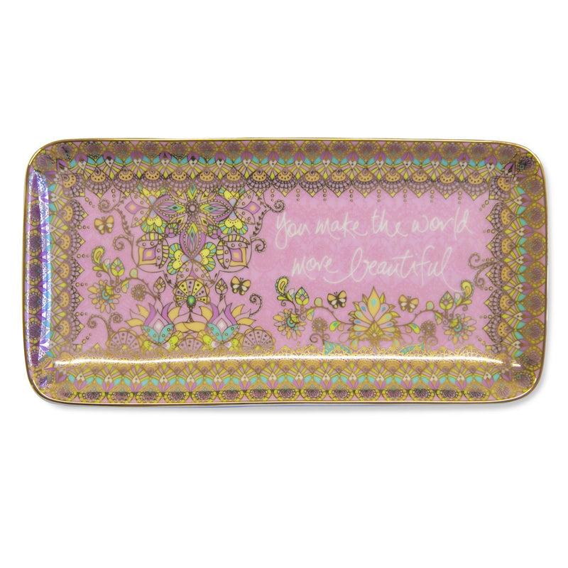 Intrinsic-Beautiful Angel Decorative Tray
