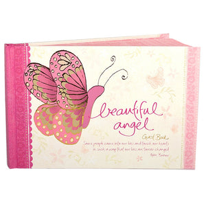 Intrinsic-Beautiful Angel Guest Book