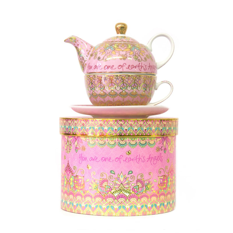 Intrinsic-Beautiful Angel Tea For One Teapot