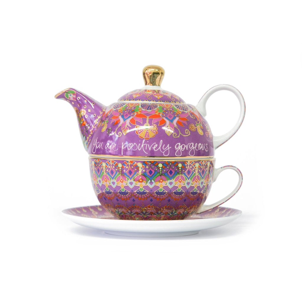 Intrinsic-Beautiful Friend Tea For One Teapot