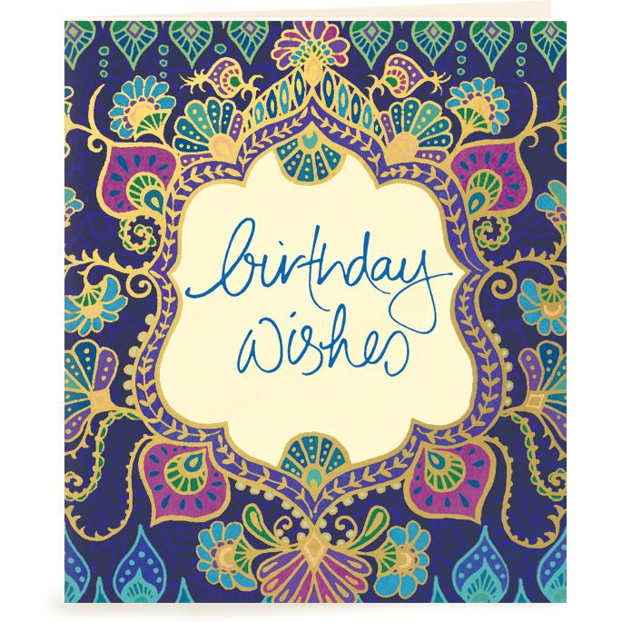 Intrinsic-Birthday Wishes Gift Tag