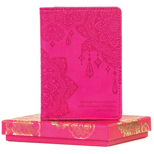 Intrinsic-Carnival Pink Passport Wallet
