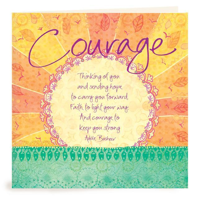 Intrinsic-Courage Greeting Card