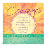 Courage Greeting Card-The Intrinsic Way