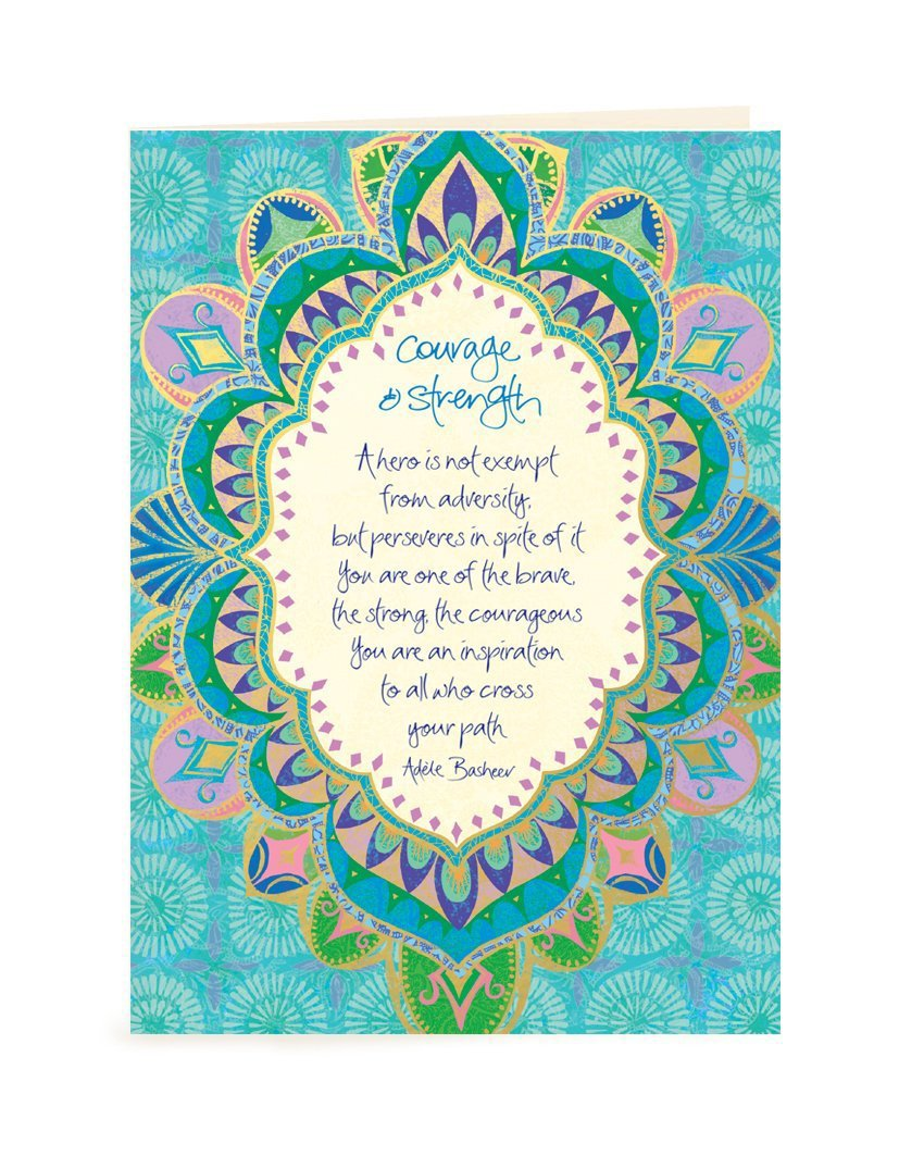 Intrinsic-Courage & Strength Greeting Card