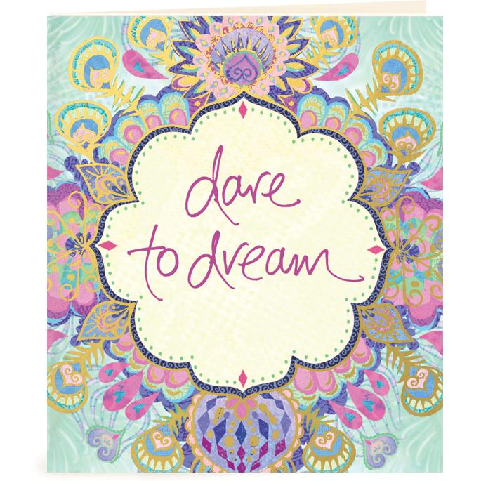 Intrinsic-Dare to Dream Gift Tag