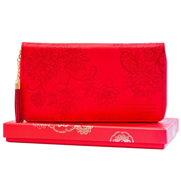 Fiesta Red Travel Clutch-The Intrinsic Way