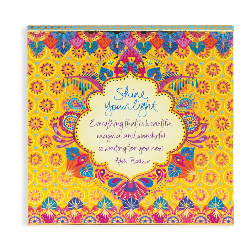 Intrinsic Yellow and Pink Patterned Note Paper