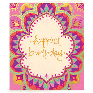 Intrinsic-Happiest Birthday Gift Tag