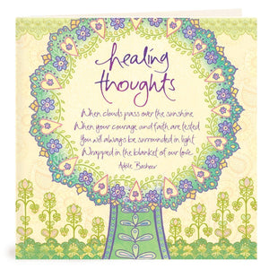 Intrinsic-Healing Thoughts Greeting Card