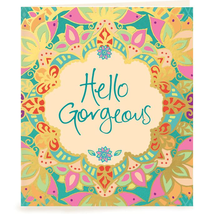Intrinsic-Hello Gorgeous Gift Tag