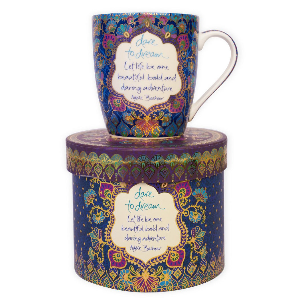 Intrinsic Hippie Couture 'Dare to Dream' Mug