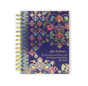 Intrinsic-Hippie Couture Spiral Notebook
