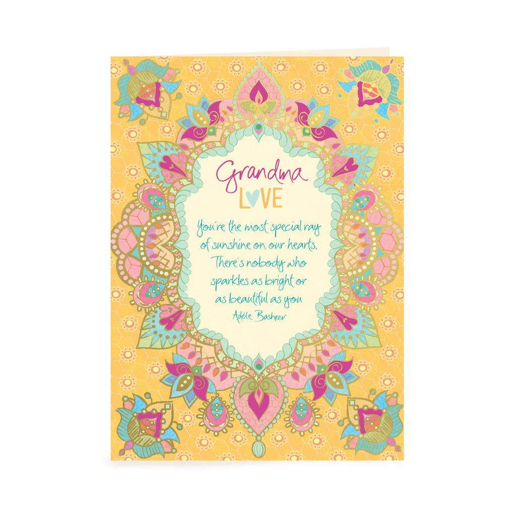 Australian Intrinsic Gran Love Birthday or Just Because Greeting Gift Card