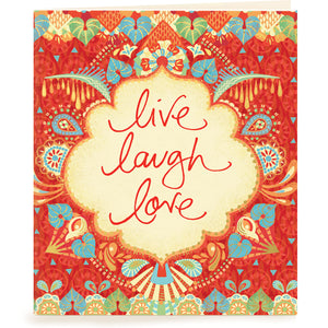 Live Laugh Love Gift Tag