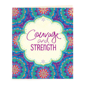 Intrinsic Adèle Basheer Courage and Strength Gift Tag
