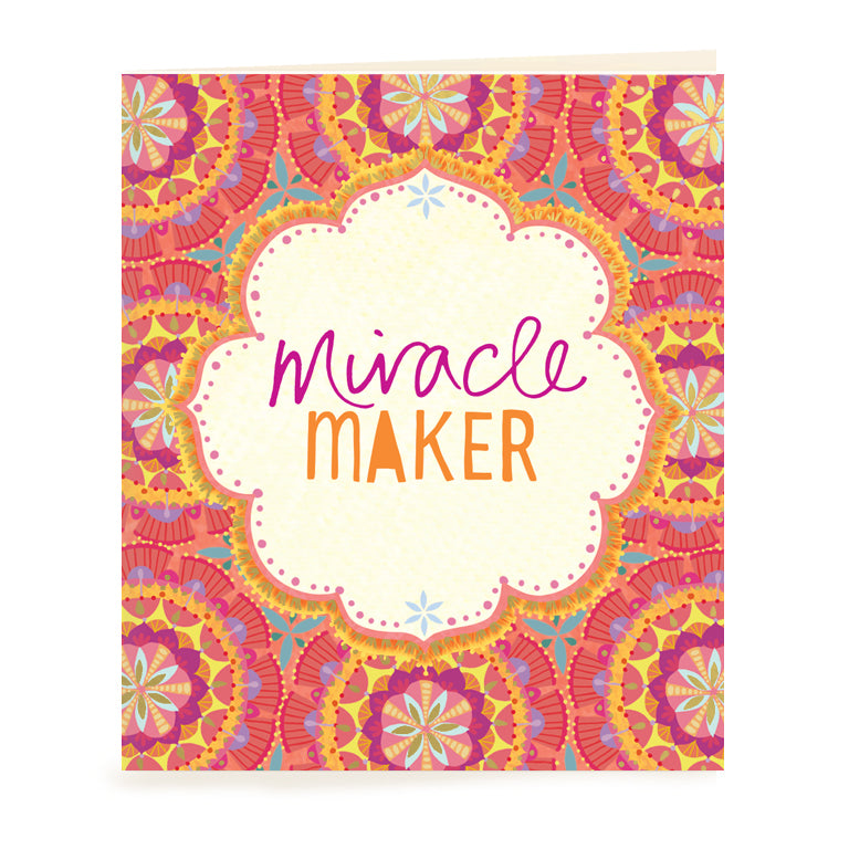 Miracle Maker Gift Tag