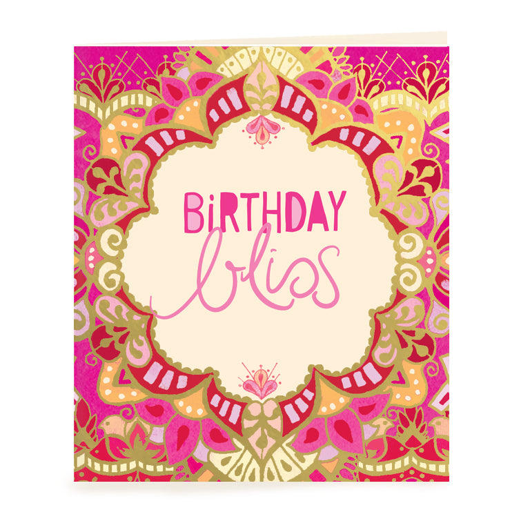 Intrinsic Adèle Basheer Birthday Bliss Gift Tag