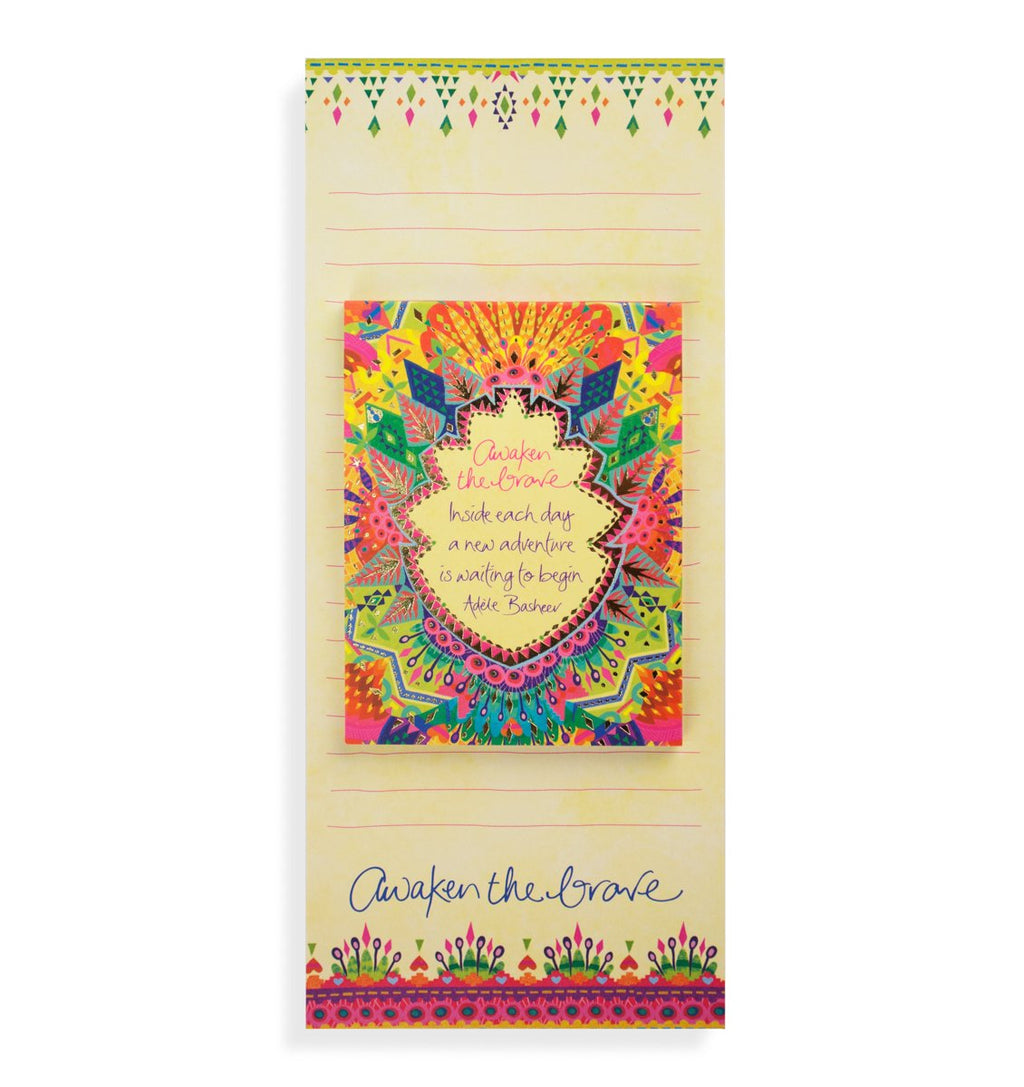 Intrinsic-Kaleidoscope Tribe Magnetic List Pad Set