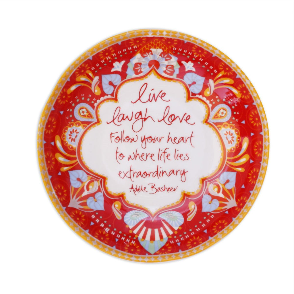 Intrinsic-Live Laugh Love Trinket Dish