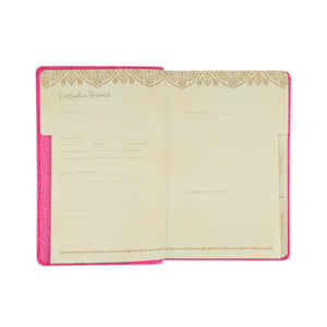 Intrinsic-Luxe Travel Journal - Carnival Pink