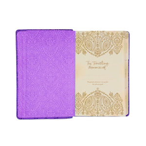 Intrinsic-Luxe Travel Journal - Violet