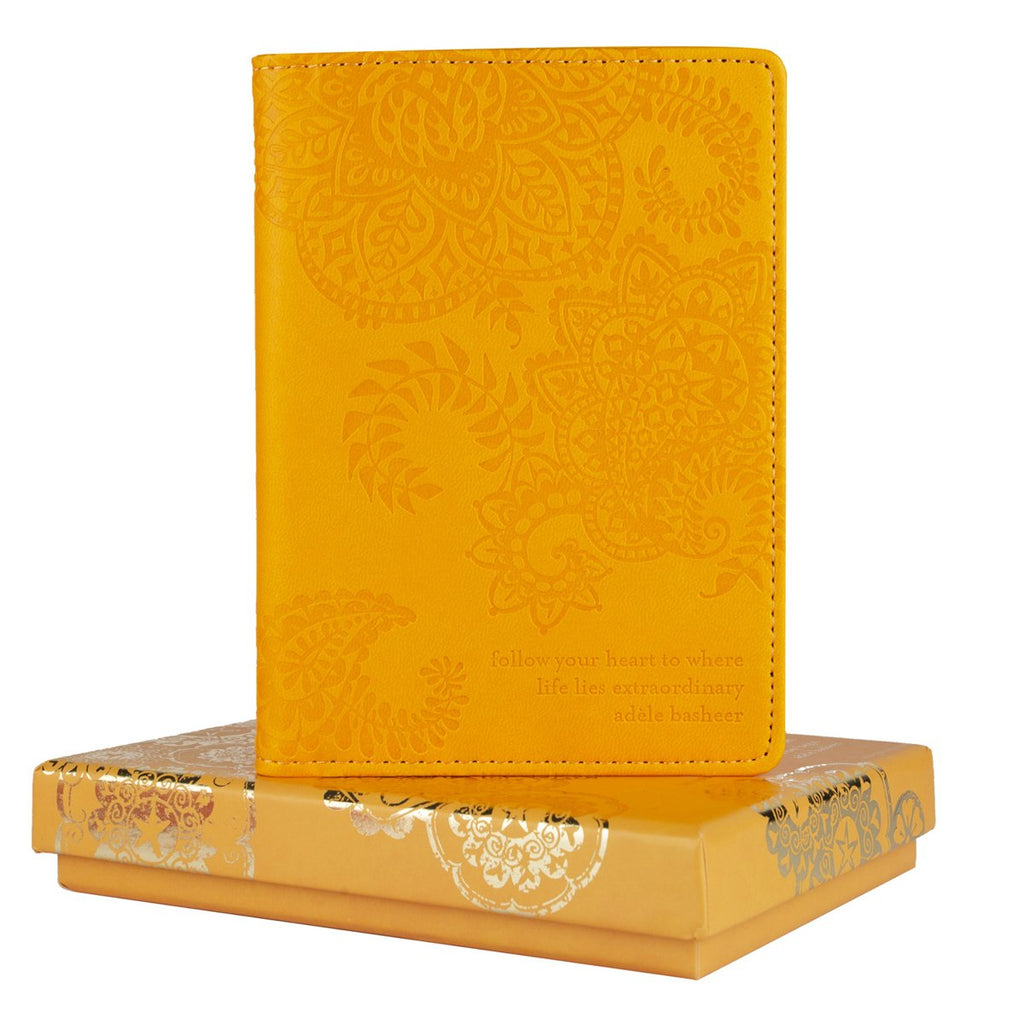 Intrinsic-Marigold Passport Wallet