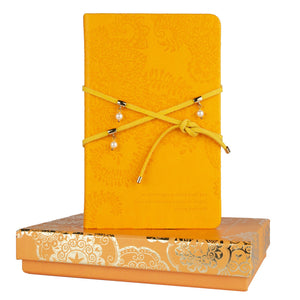 Intrinsic-Marigold Pearl Wrap Journal