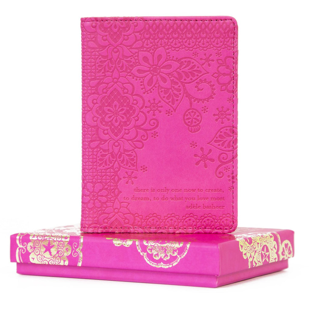 Intrinsic-Miami Pink Passport Wallet