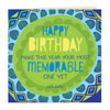 Intrinsic-Most Memorable Birthday Greeting Card