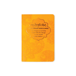 My Bright Ideas For A Vibrant Body + Mind Mini Journal-The Intrinsic Way