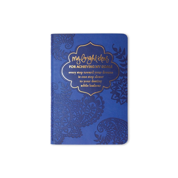 Wedding Gifts For Travel Couples The Ultimate List 2020: My Bright Ideas For Achieving My Goals Mini Journal