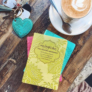Intrinsic-My Bright Ideas For Creating Abundance Mini Journal