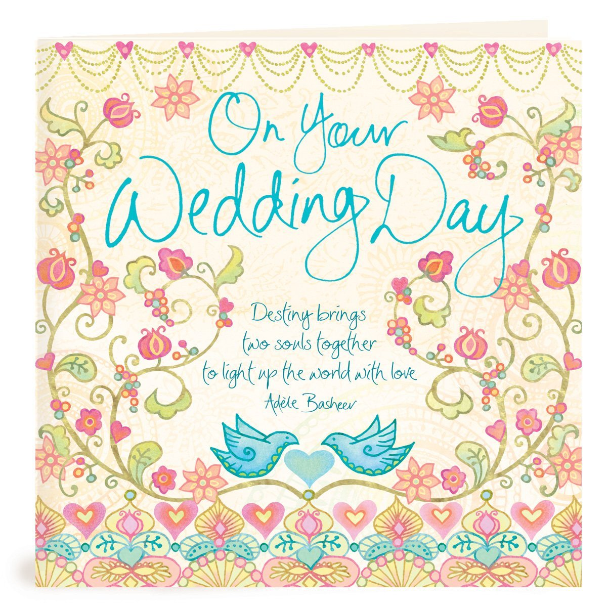 Wedding Greeting Cards.On Your Wedding Day Greeting Card