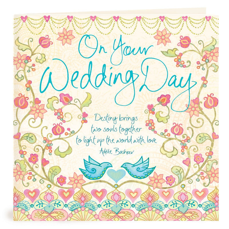 Intrinsic-On Your Wedding Day Greeting Card