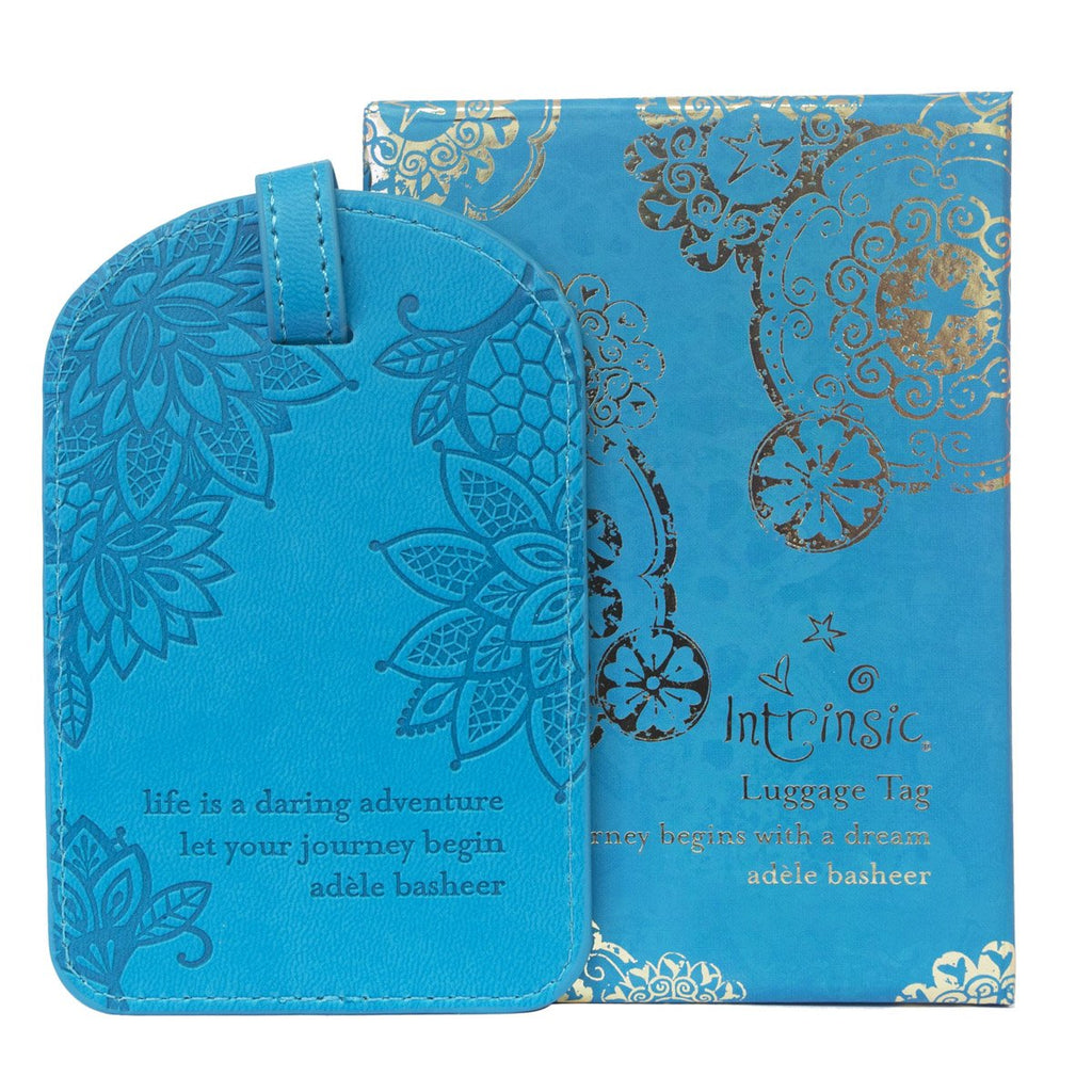 Intrinsic-Peacock Luggage Tag