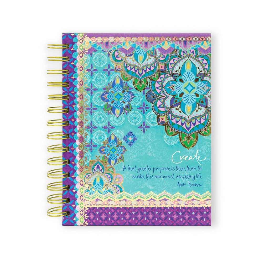 Persian Moonlight Spiral Notebook-The Intrinsic Way