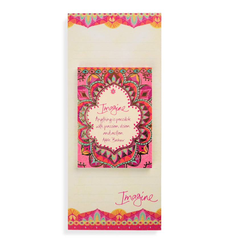 Intrinsic-Persian Sunrise Magnetic List Pad Set