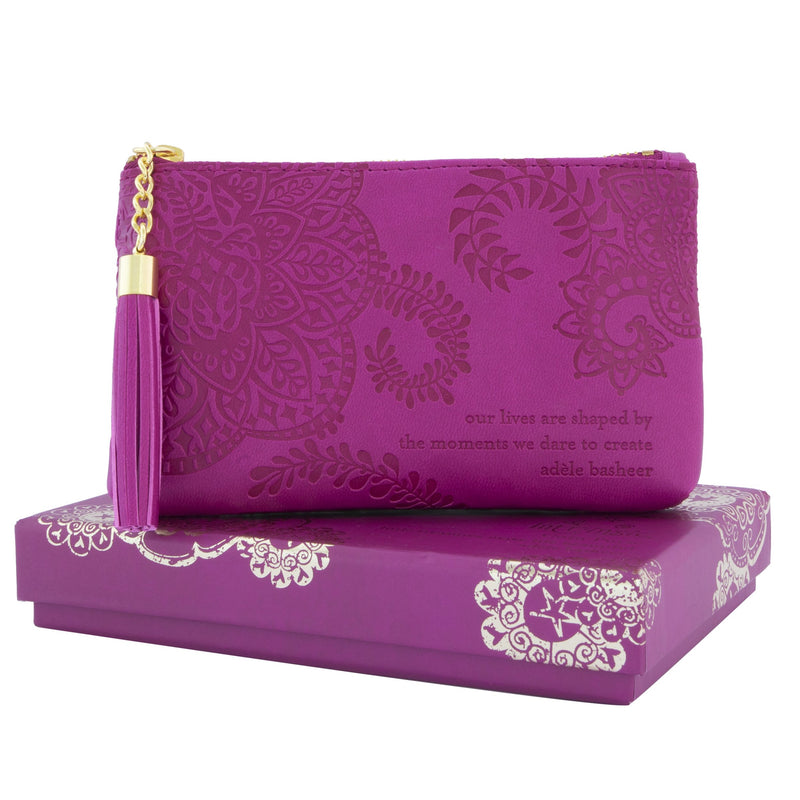 Intrinsic-Plum Cherry Coin Purse