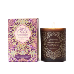 Sacred Journey Soy & Macadamia Candle-The Intrinsic Way