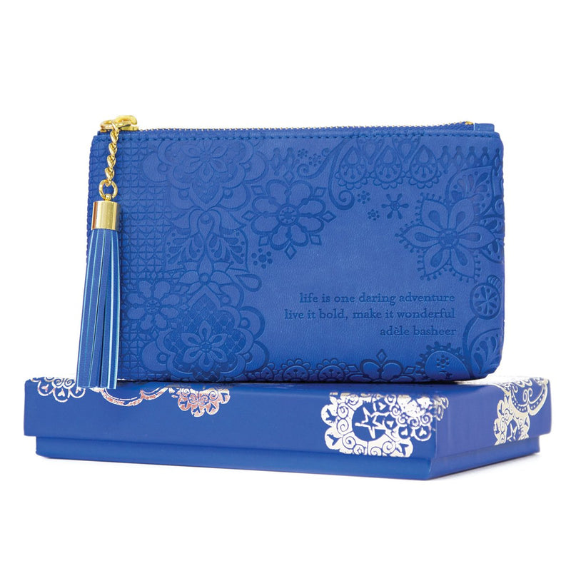 Intrinsic-Santorini Blue Coin Purse