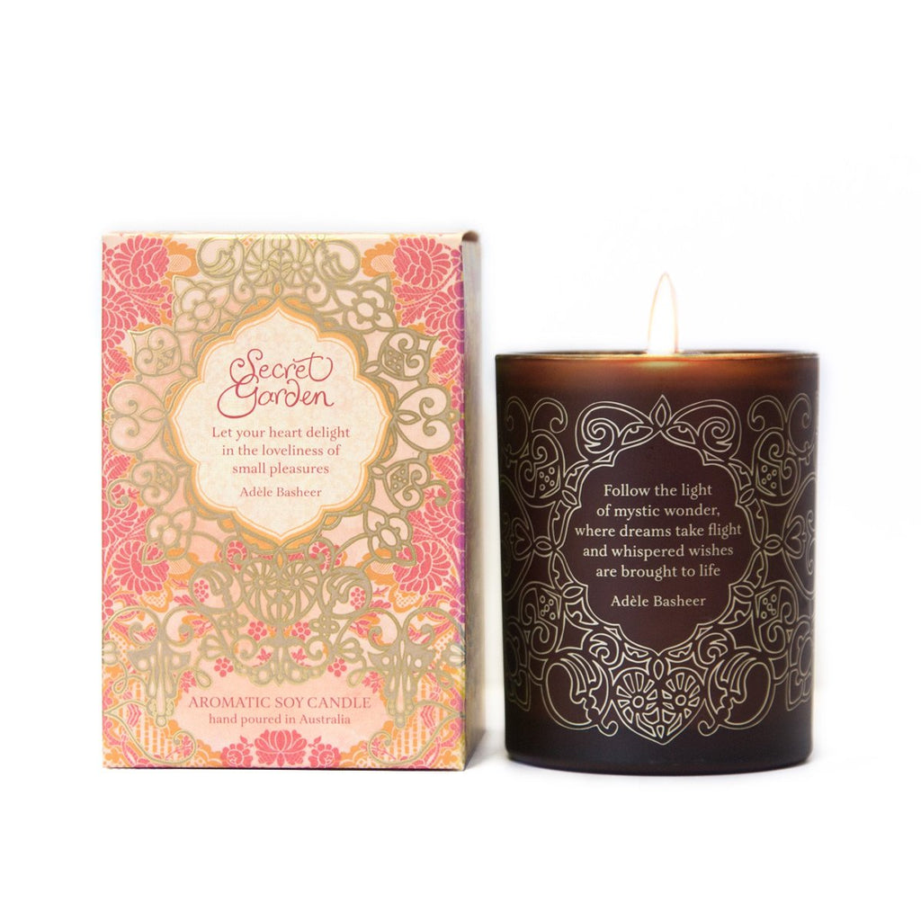 Secret Garden Soy & Macadamia Candle-The Intrinsic Way
