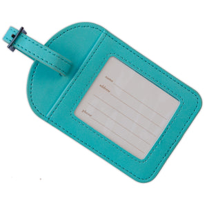 Tahitian Turquoise Luggage Tag-The Intrinsic Way