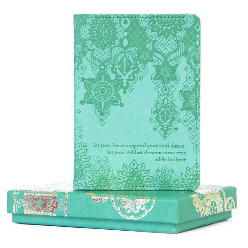 Intrinsic-Tahitian Turquoise Passport Wallet